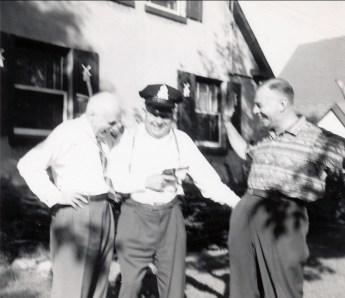 1957, av des Plaines François de Kinder, Léo et Albert Thivierge