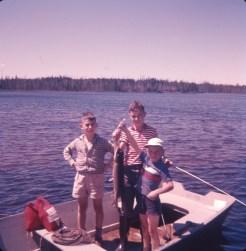1959, Chibougamau, George-Peter, Bobby et Richard