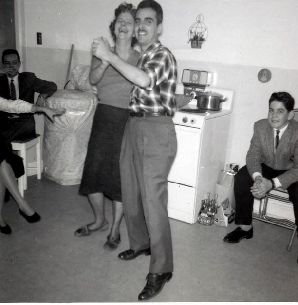 1960, Laurette et Johnny Sofio