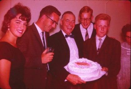 1962, Irène, Piet, Albert, Hans, Bob