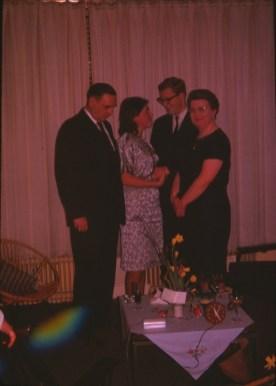 1962 approx Parents de Hans avec Paulette et Hans