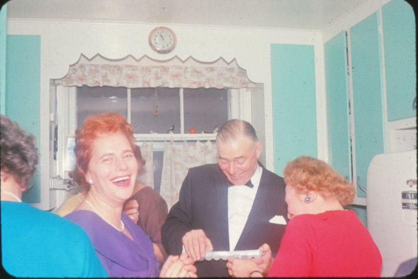 1963, Laurette, Albert et Myrtle