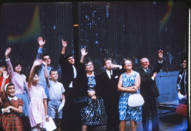 1963, départ