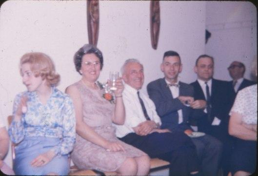 1966, Carole, Henriette, Theo, Louis et Frantz Van de Sande