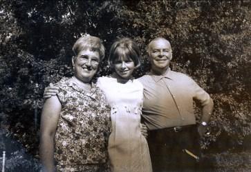 1969, Henriette, Claire et Albert Thivierge
