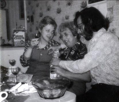 1973, 22 mars Carole, Henriette et Bobby