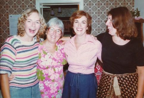 1978, Claire, Henriette, Irène et Paulette