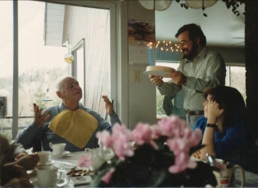 1986, avril anniversaire Albert, Bobby et Marie-Jo