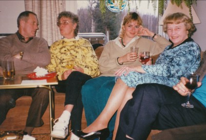 1988, 75e Johnny Hughes, Beryl George, Claire Thivierge et Anna George
