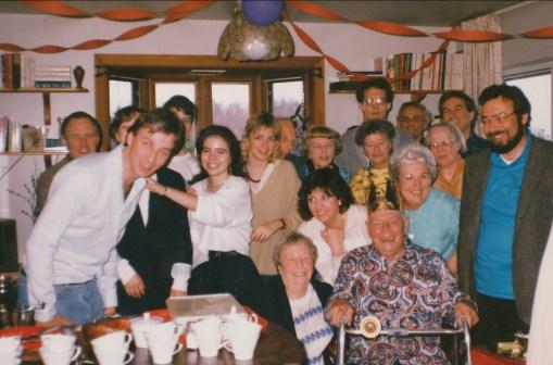 1988, 75e familles Thivierge, George et van de Sande