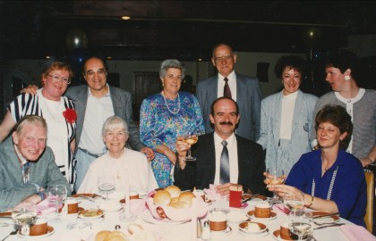 1990, 50e famille Bertrand et amis