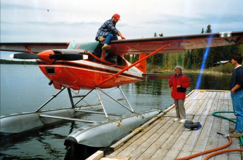 1991, Lonesome lake - voyage Henriette