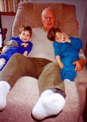 1992, Albert avec Hubert et Simon (2)