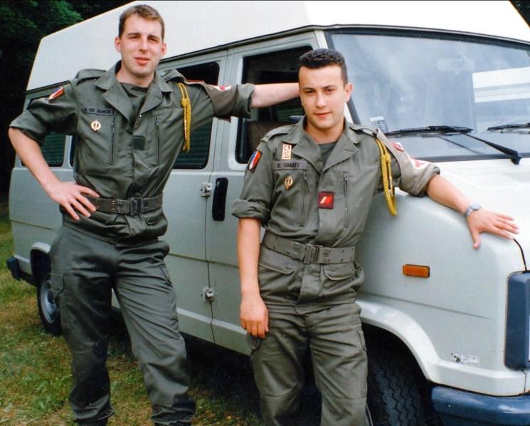 1993, Albert soldat