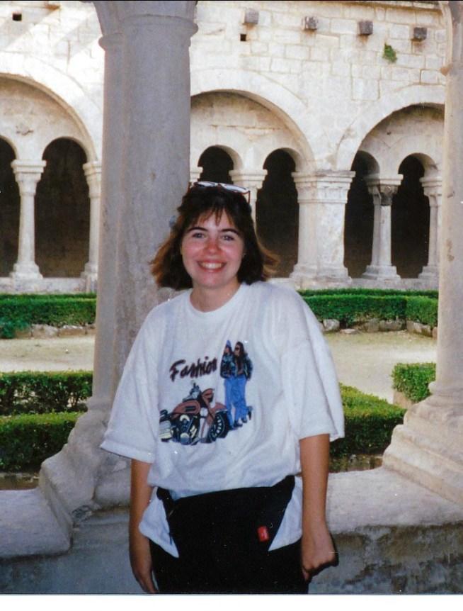 1993, Marie-Jo - abbaye de Sénanque