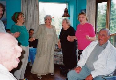 2000, Claire Perreault, Henriette, Myrtle, Anna et Léo