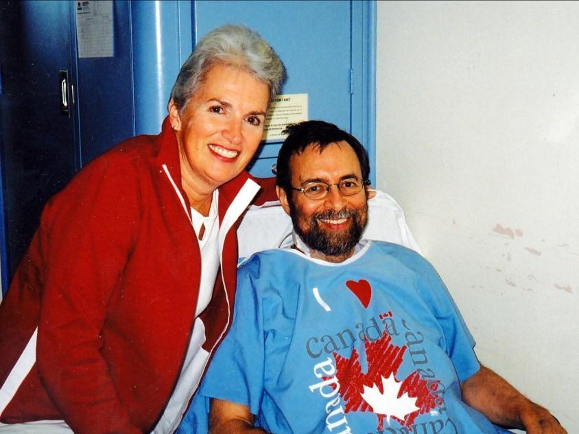 2005, Irène et Bobby après greffe