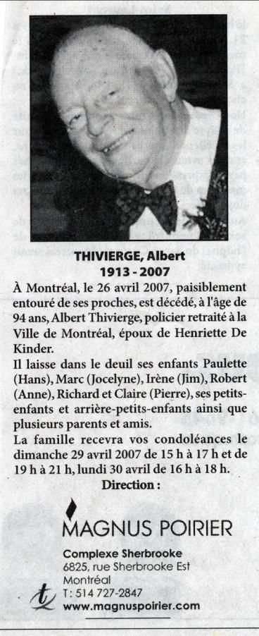 2007, 26 avril, Albert
