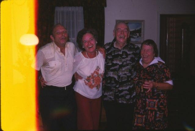 Billy et Beryl George, Albert Thivierge et Myrtle George
