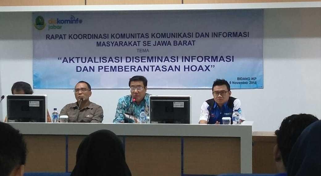 Rakor RTIK, KIM dan Diskominfo Se-Jabar