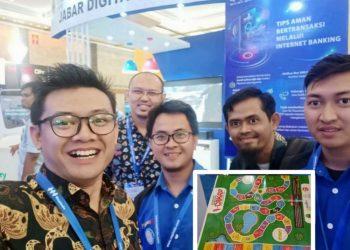 Perwakilan RTIK Kota Cirebon di Stand Jabar Digital Province, insert : Game I Cakap