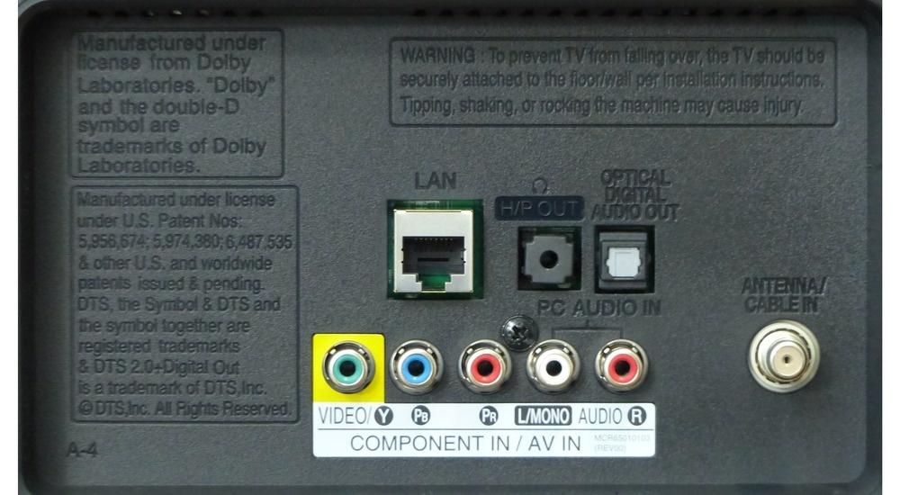 51 Speakers to LG 42LA6200  LG  Audio
