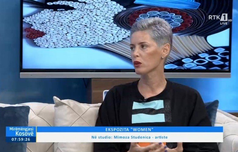 "VIDEO - Sot hapet ekspozita ""Women"" e Mimoza Studenicës"
