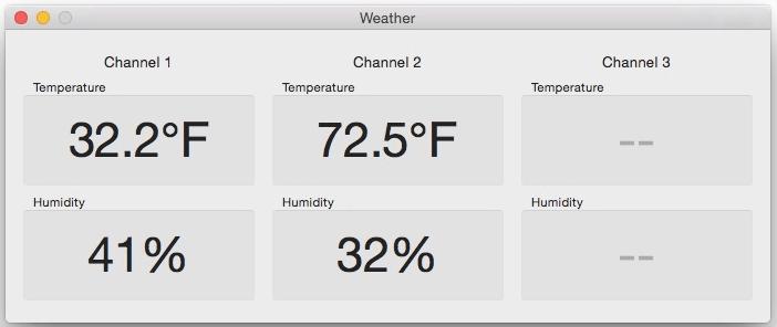 New Oregon Scientific Temperature/Humidity Data Receiver