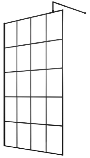 Sorento 1400mm Wetroom Panel Only