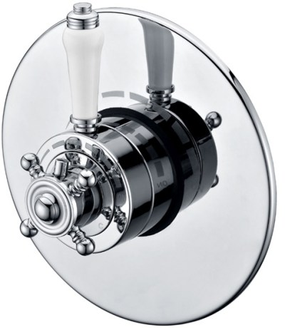 TRADITIONAL LEVER THERMOSTATIC SHOWER VALVE