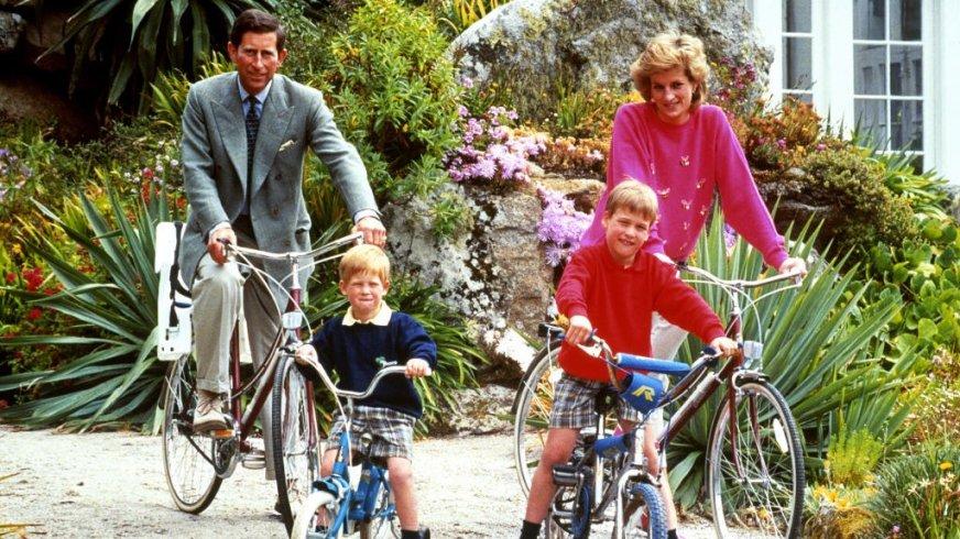 Prins William neemt kids en Kate mee naar zijn oude ...