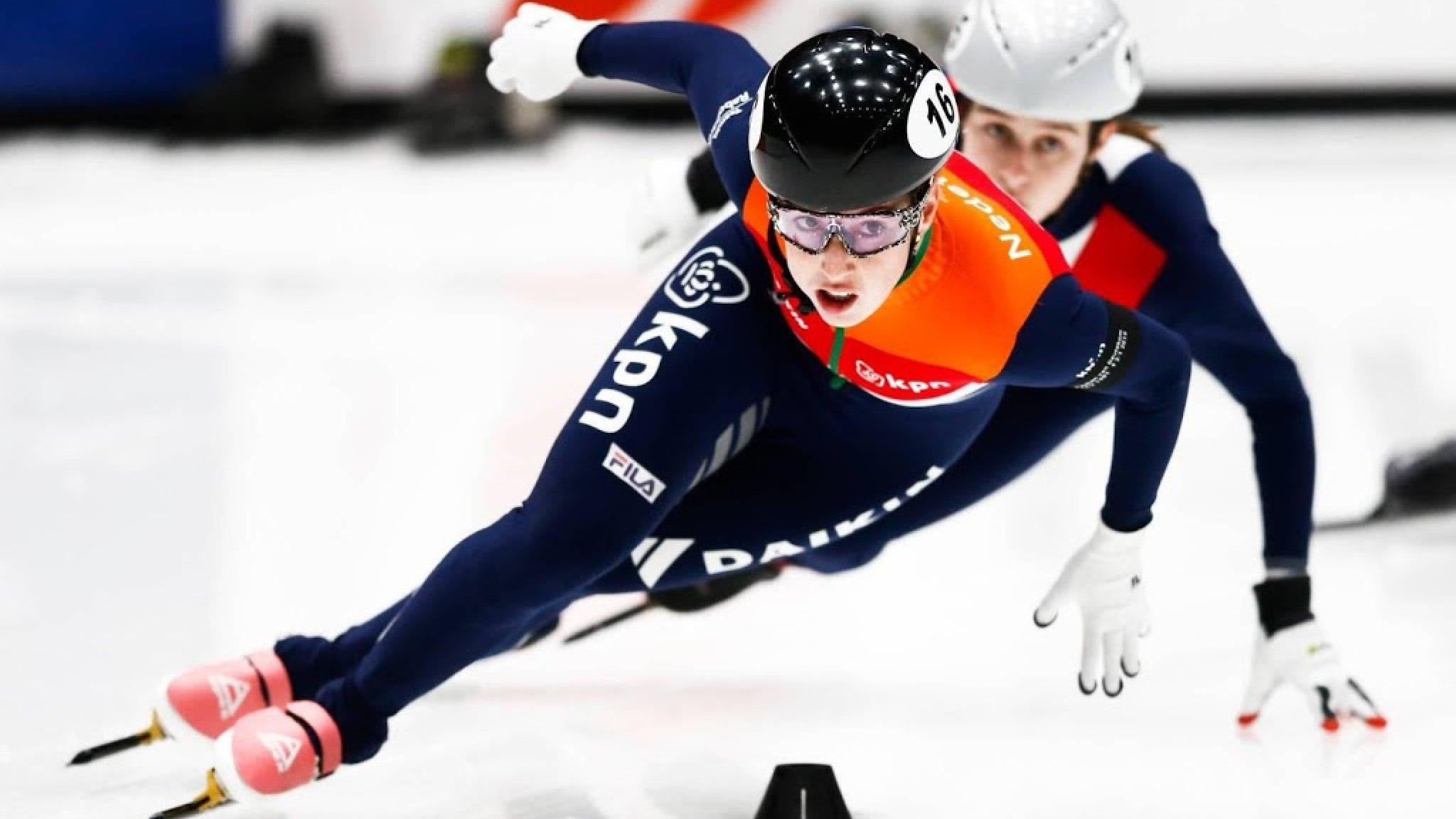 Van Ruijven Wereldkampioene Op 500 Meter Rtl Nieuws