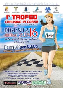 1° TROFEO CAROSINO IN CORSA 2013