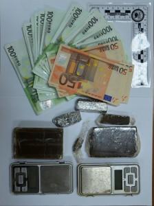 droga e banconote