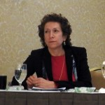 Janet Besser at EUCI summit discussing renewable energy, natural gas