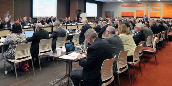 The Southwest Power Pool Board of Directors/Members Committee meets