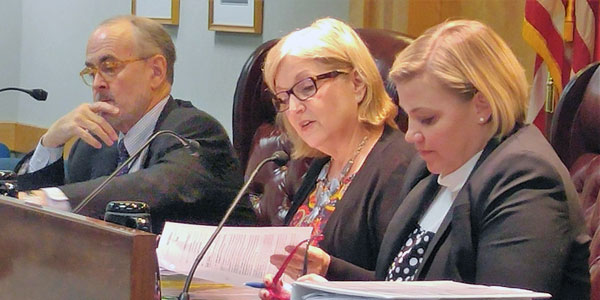 PUCT Commissioners left to right: Ken Anderson, Donna Nelson and Marty Marquez | © RTO Insider
