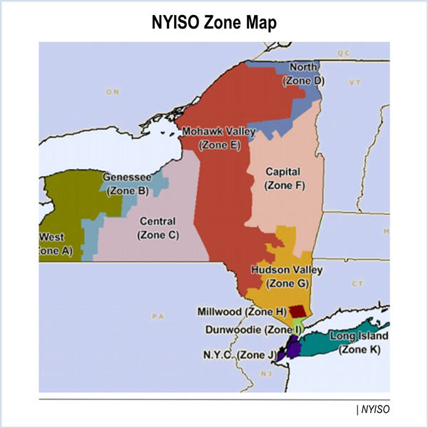 NYISO capacity auction hudson valley
