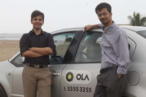 Ola Cab Founders