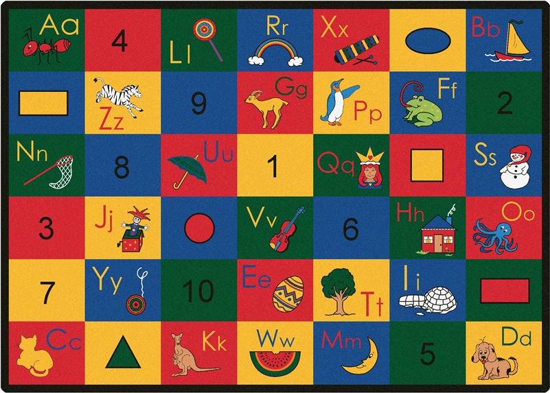Blocks of Fun Rug  CFK13XX  Carpets for Kids