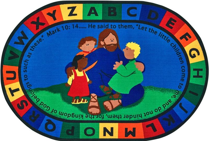 Jesus Loves the Little Children Rug