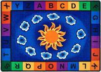 Sunny Day Learn & Play Classroom Rug | CFK94XX | Carpets ...