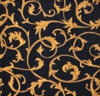 "Acanthus Wall-to-Wall Carpet Black 13'6"" | JC1744W01 | Joy ..."