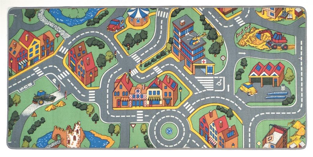 My Neighborhood Play Rug Rectangle 36 x 80  LC144