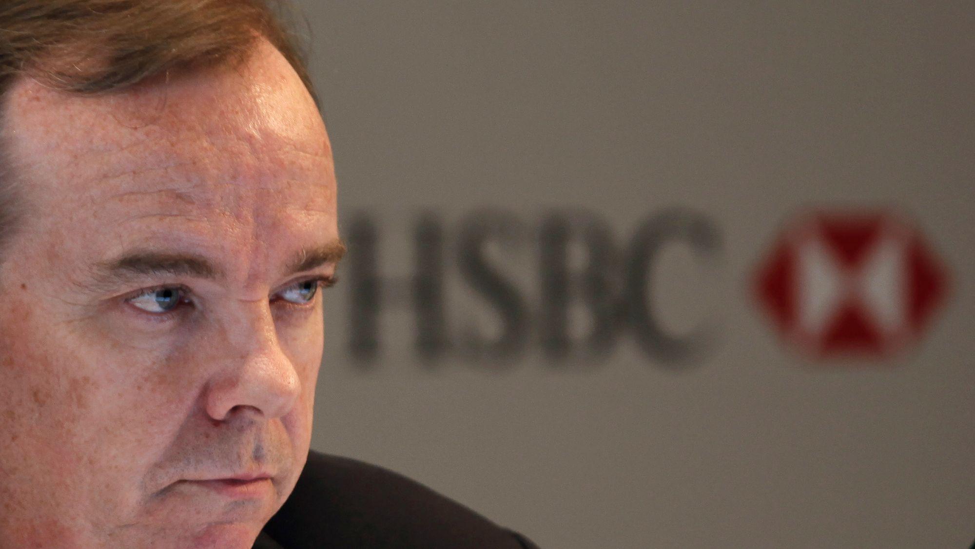 Stuart Gulliver, directeur général de HSBC.