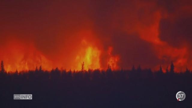 Canada: l'incendie qui sévit dans l'Alberta risque de s'agrandir