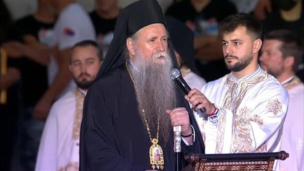 Odloženo ustoličenje mitropolita Joanikija na Cetinju