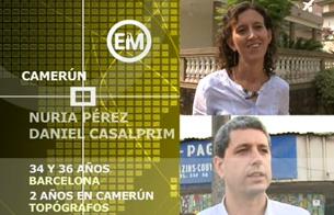 Ver vídeo  'Españoles en el mundo - Camerún - Nuria y Dani'