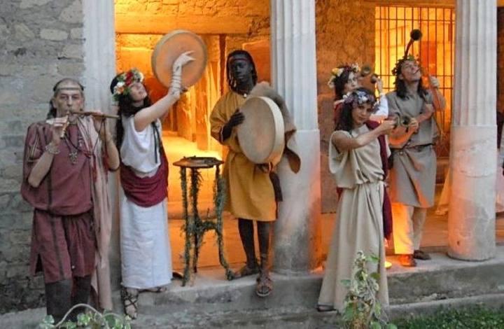 Grupo de arqueomúsicos de Synaulia