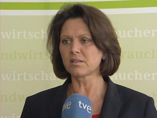 Ver vídeo 'La ministra de Agricultura de Alemania dice ser consciente del daño'